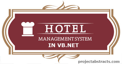 Hotel Management System in VB Net (Computer Project