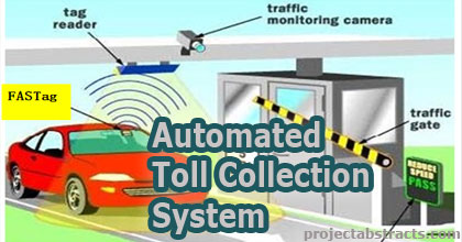 Automated Toll Collection System Using Rfid Electronics