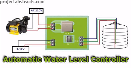 Simple Automatic Water Level Controller (ECE/EEE Project