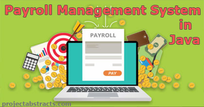 Payroll Management System in JAVA (Computer Project