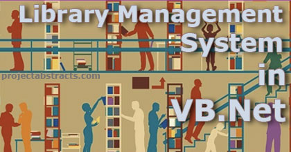 Library Management System in VB Net (Computer Project