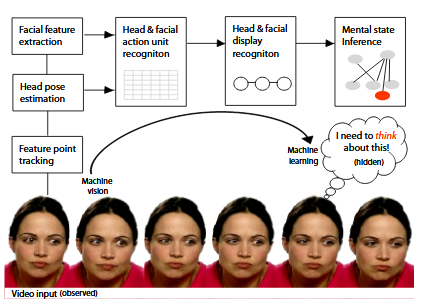 Block  diagram  of  the  automated  mind  reading system.