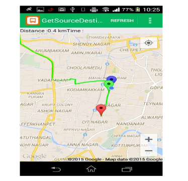 An Android Application For Tracking College Bus Using