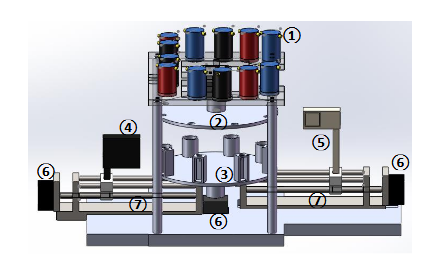 Drawing of the Mechanical Device