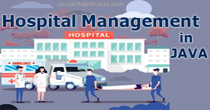 Hospital Management In Java Computer Project