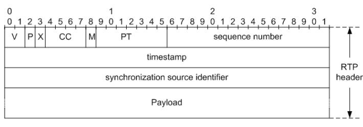 Fig.1. RTP packet