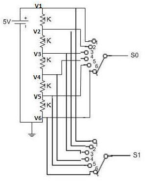 Figure 3.1: Switch circuit schematic