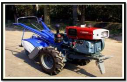 Fig.2 Power Tiller sprayer