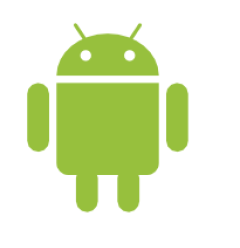 Figure 2.1: Bugdroid, the green Android logo.