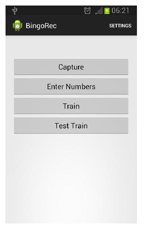Figure 4.4: Main menu