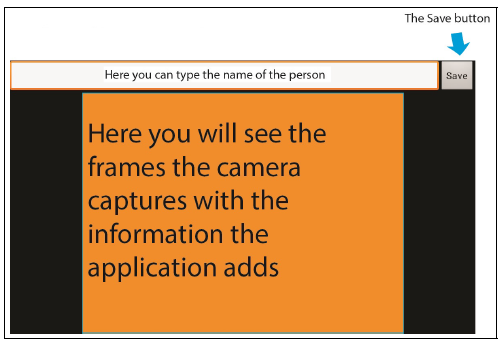 Figure 3: The application's layout