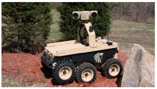 Fig. 6. LandShark vehicle