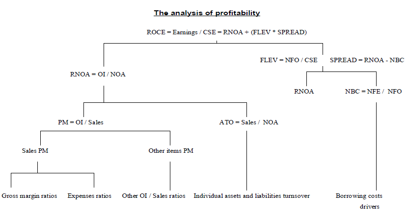 Fig 2.4 The analysis of profitability