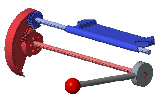 Figure 39: Planetary Gear Assembly