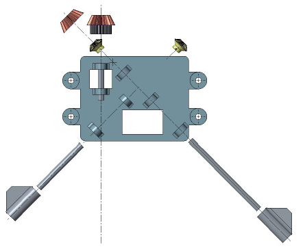 Figure 41: Angular Bracket Exploded View