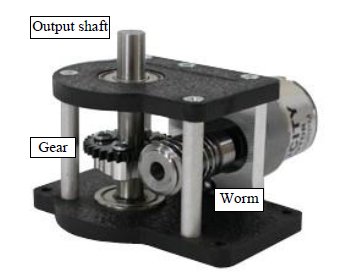 Figure 8-1: Worm gear box