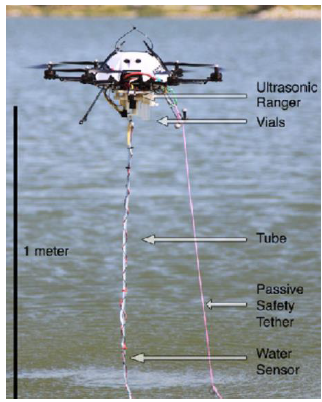 Figure 5-1: UAV-based water sampling