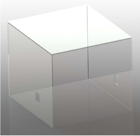 Figure 34. Acrylic housing designed to ensure safety.