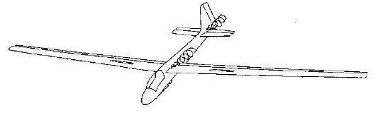 Figure 2-6a. Vortices originating from sharp junctions between wing and body