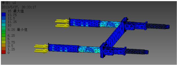 Figure 53: Simulate structure in Inventor