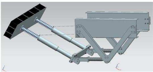 Figure 43: The lift- up status