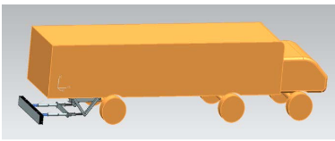 Figure 1: Anti -collision Equipment Applied on Truck