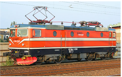 Figure 2.2: Green Cargo Rc4 1290 i Malmö 2006. Foto Frederik Tellerup
