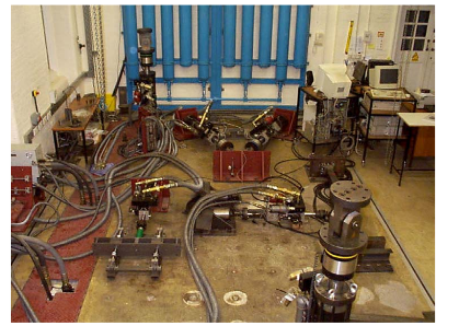 Figure 3.1: Overview of the Oxford Univ ersity Structural Dynamics Laboratory