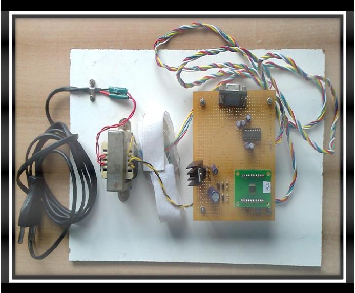 Figure 4.7 Snapshot of Tremor hardware kit