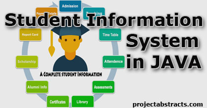 Student Information System in JAVA (Computer Project