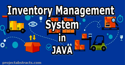 Inventory Management System in JAVA (Computer Project
