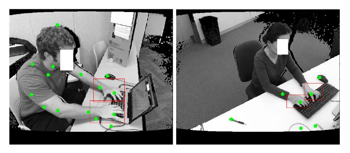 Figure 6.3: Two results of cascade detection using simple detection