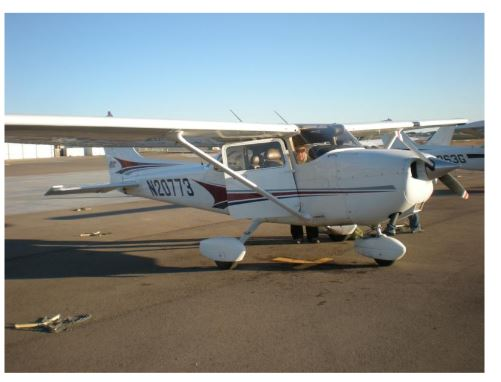 Figure 1. Cessna 172 aircraft
