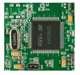 Figure 3. The processor used in the embedded system