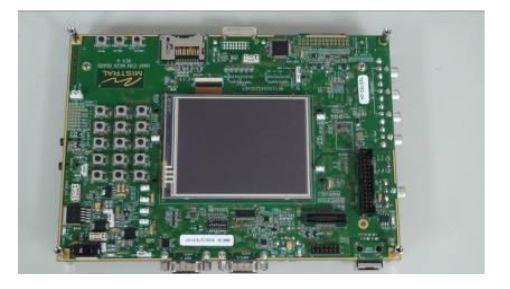 Figure 9 . The TI OMAP3530 Embedded Experimental Platform
