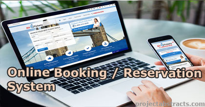 List of all Online Booking / Reservation System Projects