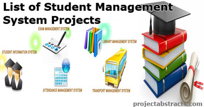 List of Student Management System Projects
